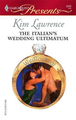 Image of The Italian's Wedding Ultimatum
