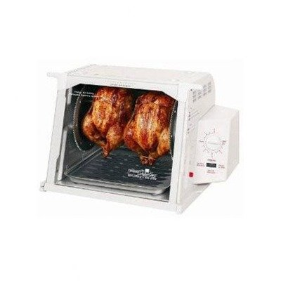 Ronco Compact Rotisserie- White