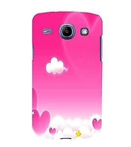 printtech Love Heart Sky Back Case Cover for Samsung Galaxy J1 / Samsung Galaxy J1 J100F