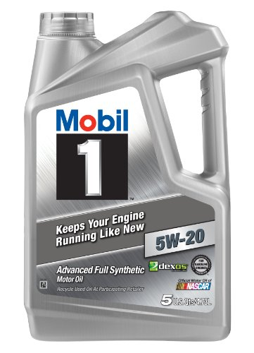 Mobil 1 120763 Synthetic Motor Oil 5W-20, 5 Quart (Mobil 1 Synthetic Oil 5 Quart compare prices)