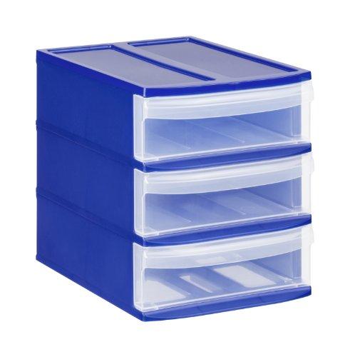 Rotho-Schubladenbox-Systemix-Tower-aus-Kunststoff-Ablagebox-Grsse-S-265x192x233-cm-transparentblaues-Ablagesystem-DIN-A5-Brobox-fr-Schreibtisch-Bro-uvm-Hergestellt-in-der-Schweiz-1114606149