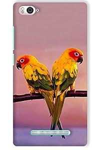 IndiaRangDe Case For Xiaomi Mi 4i Printed Back Cover
