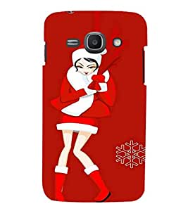 EPICCASE Christmas babe Mobile Back Case Cover For Samsung Galaxy Ace 3 (Designer Case)