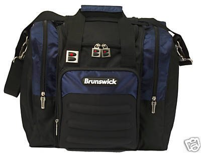 Brunswick Flash Single Tote (Black/Navy)