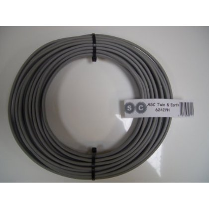 2m of 6mm Twin and Earth Electrical Cable for Ovens and Cookers