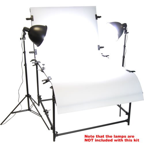 PhotxPro Extra Large Professional Photo Studio Shooting Table for Photographic Product or Still Life Photography 100 x 200cm