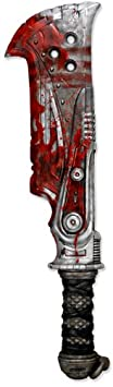 NECA Gears of War Prop Replica Butcher Cleaver Weapon