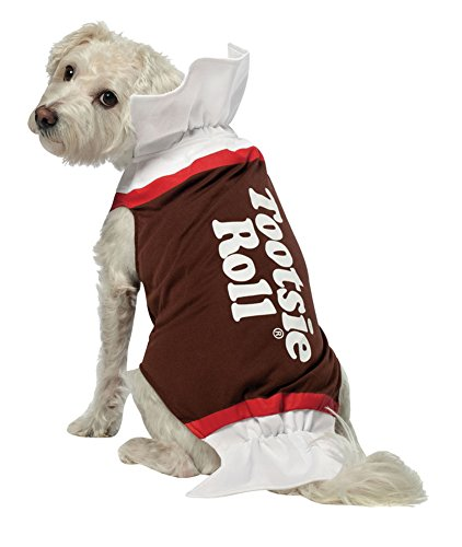 costume accessories - Tootsie Roll Dog Costume Xl