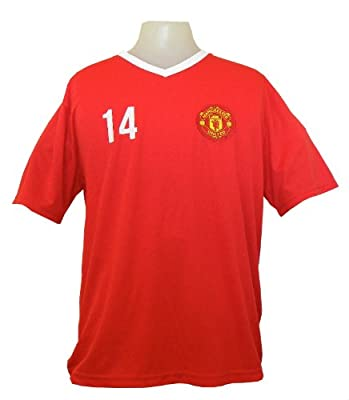 MANCHESTER UNITED SOCCER OFFICIAL JAVIER HERNANDEZ (CHICHARITO) ADULT JERSEY-HOME-SMALL