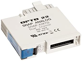 Opto 22 SNAP-AIRTD - SNAP Analog Temperature Input Module, 2-Channel, 100-Ohm Platinum 3-wire RTD Input
