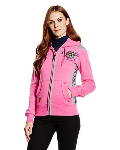 Geographical Norway Giacca Felpa Girly [Rosa]