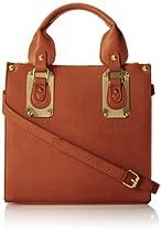 Steve Madden Bboxer Top Handle Bag,Cognac,One Size