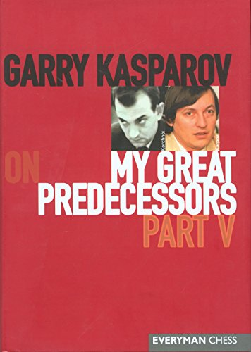 My Great Predecessors: Part V: Pt. 5 (My Great Predecessors Series)
