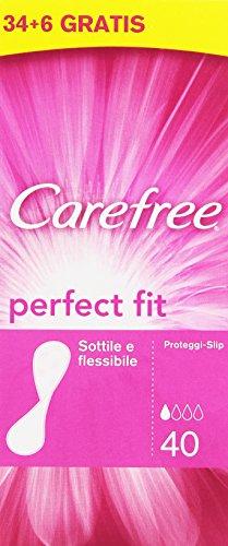 Carefree - Proteggi-Slip, Sottile E Flessibile -   40 Pezzi