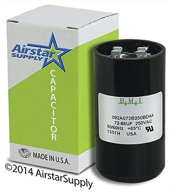 72 86 Uf X 220 250 Vac Pool Pump Motor Start Capacitor
