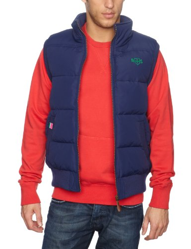 Rampant Sporting Guys Jersey Lined Men's Gilet Marine Small