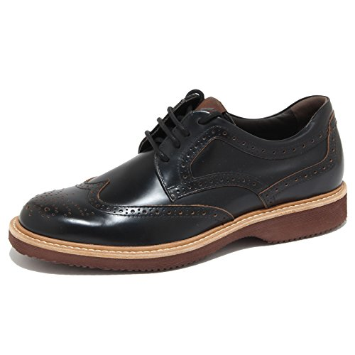 6468N scarpa HOGAN H 217 ROUTE DERBY nero scarpe uomo shoes men [6]