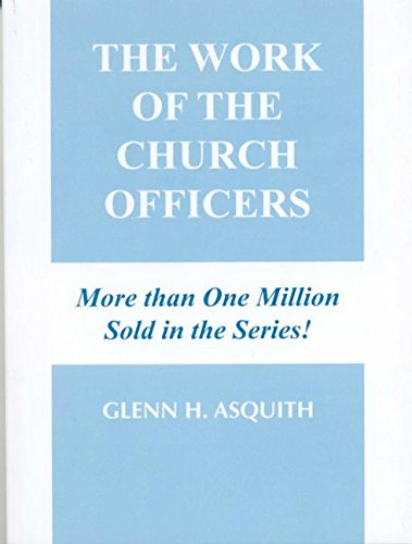 The Work of the Church Officer