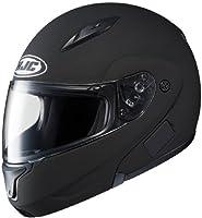 HJC CL-MAXBT II Bluetooth Modular Motorcycle Helmet (Matte Black, Large) from HJC