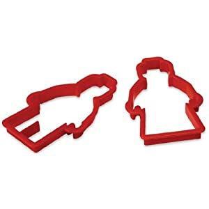 LEGO party supplies: MiniFigure cookie cutters!