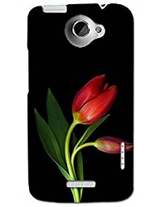 Htc One X Back Cover Designer Hard Case Printed Cover