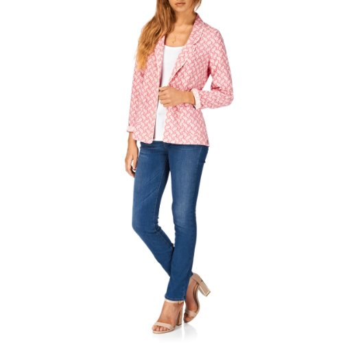 Maison Scotch Coral Inspired Prints Jacket - Combo D
