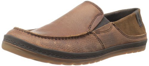 Teva Men'S Clifton Creek Leather Slip-On Fashion Sneaker,Bison,12 M Us front-1057654
