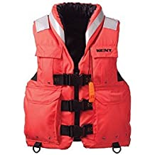 Absolute Outdoor Kent Sar- Search And Rescue Commercial Life Vest - Persons Over 90-Pounds