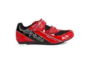 Spiuk Uhra Road - Zapatilla de ciclismo unisex, color rojo / negro, talla 40