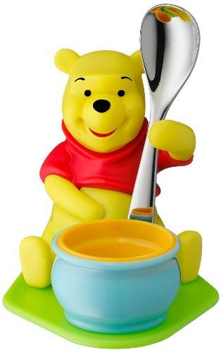 """WMF 1283536280 Coquetier avec cuillère """"Winnie l'ourson"""""""