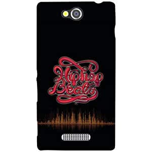 Sony Xperia C Back cover - Breathe Designer cases