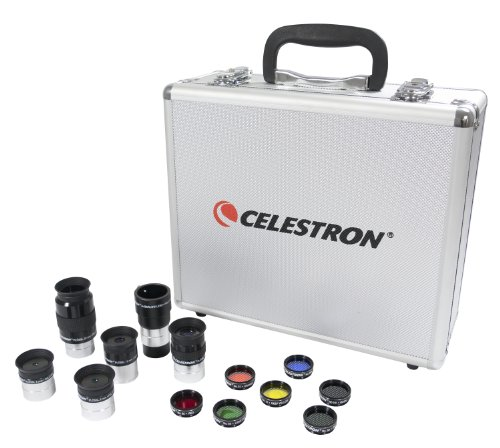 Celestron 94303 Telescope Eye Piece and Filter Kit
