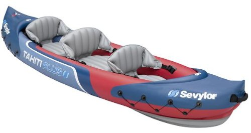 Sevylor Tahiti Plus 2+1 Person Inflatable Kayak/canoe