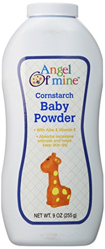 Angel of Mine Cornstarch Baby Powder - 9 Oz. - 1