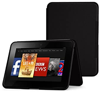 "Amazon Kindle Fire HD 8.9"" Standing Leather Cover, Onyx Black  [will only fit Kindle Fire HD 8.9 (2nd Generation)]"