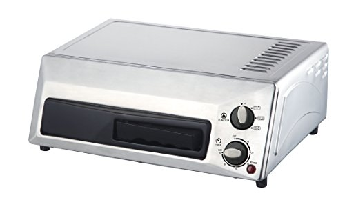 Magic Chef HQPZO13ST Pizza Oven Stainless Steel, (Magic Chef Pizzelle Maker compare prices)