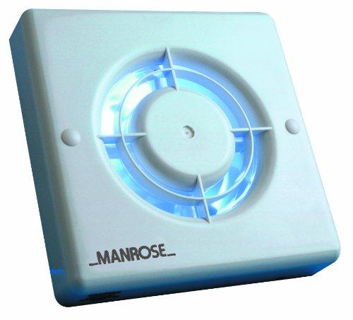 Manrose 4 Inch Humidistat Bathroom Extractor Fan Jan L