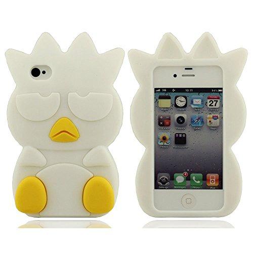 Hülle Für iPhone 4 iPhone 4S iPhone 4G Weich Hülle Schutz- Hülle Hülle Stoßstange Cartoon Stil Silikon Gel Hülle Schön und Gut Berühren Gefühl