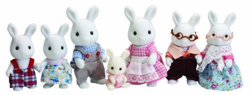 Sylvanian Families Celebration White Rabbit Family