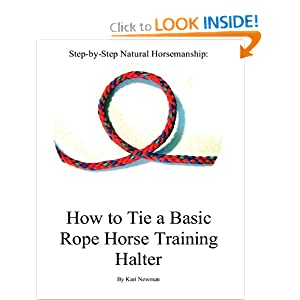 Rope halter how to tie