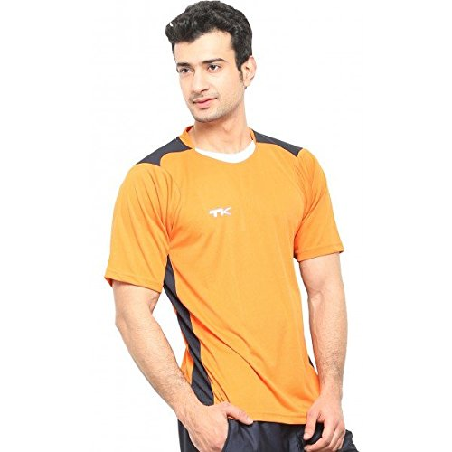 Edge TK Edge Training Half Sleeves T Shirt, X-Large (Orange)
