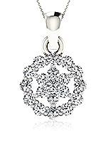 Diamant Vendome Conjunto de cadena y colgante Oro Blanco