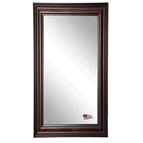 American Made Rayne Missouri Walnut 29.5 X 64.5 Floor Mirror front-797485