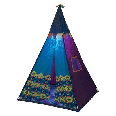 B. Teepee Tent - Sea Color (Blue) front-38686