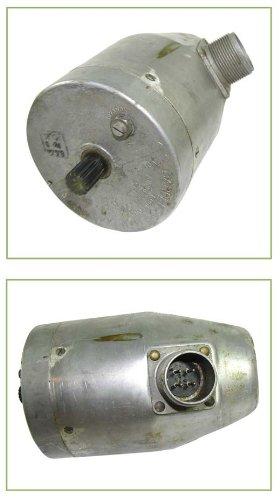 B-17 And B-24 Oil-Heater Louvered Door Motors. High Torque, Low Rpm