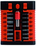 BAHCO SB-59/S15-3 15 Piece 1/4 Inch Hex Bit Magazine Set with 14 hex Bits and a Bit Holder