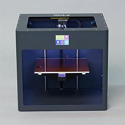 Anthracite Gray colored CraftBot PLUS 3D printer.