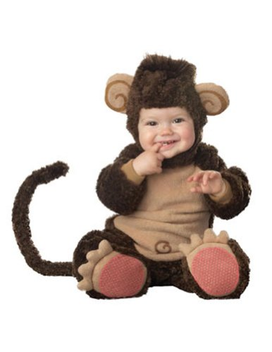 Lil Monkey Lil Character Toddler Halloween Costume 18m-2