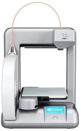 Cubify Cube 3D Printer 2nd Generation SILVER