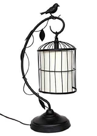 Hanging Birdcage Table Desk Lamp Decorative Lighting With